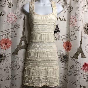 Beautiful Ivory Colored Lace Dress